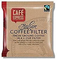 カフェエクスプレスワンカップコーヒーフィルターバッグ(×50)
