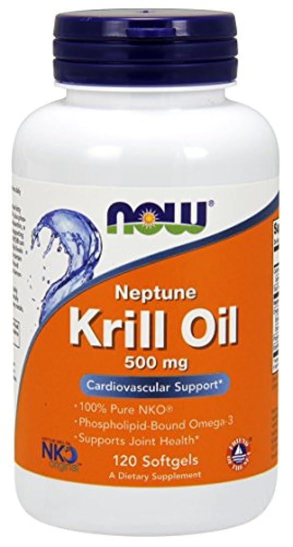 芝生デンプシー表示[海外直送品] ナウフーズ  Neptune Krill Oil 120 Softgels 500 mg