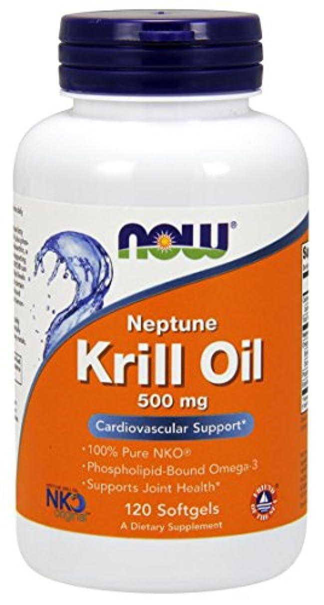 報酬の物理的なマスタード[海外直送品] ナウフーズ  Neptune Krill Oil 120 Softgels 500 mg