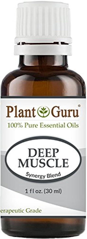 絶縁する部分的にスキーDeep Muscle Synergy Essential Oil Blend 30 ml. 100% Pure, Undiluted, Therapeutic Grade. (Blend Of: Wintergreen...