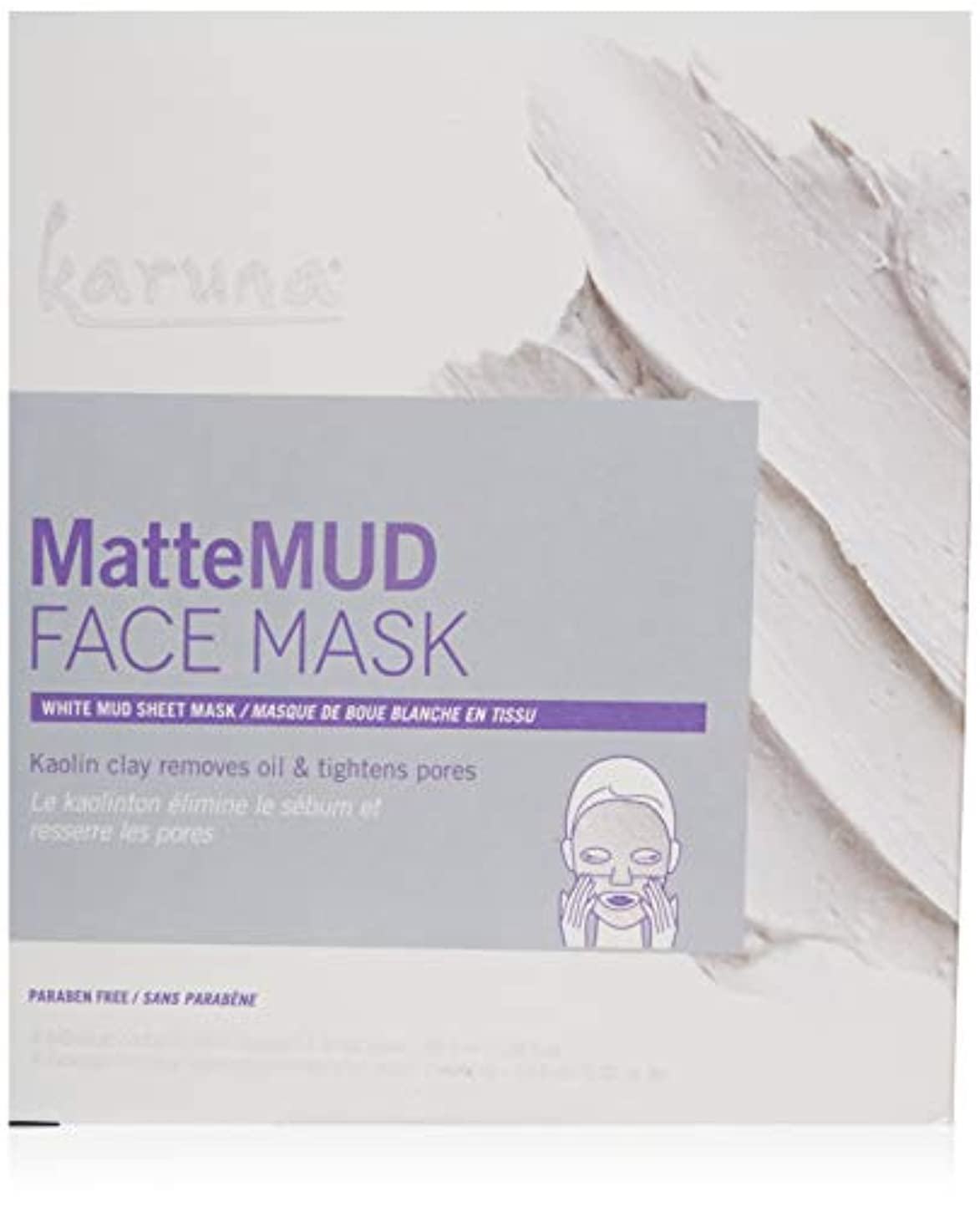 劇場項目クマノミKaruna MatteMud Face Mask 4sheets並行輸入品