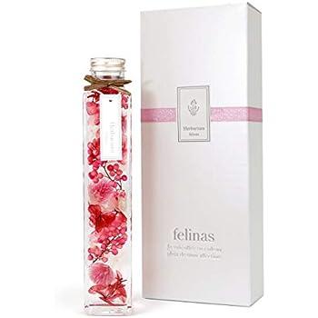 フェリナス ハーバリウム 角瓶(1本) ピンク バレンタインデー ホワイトデー 母の日 花 ギフト プレゼント 贈り物 誕生日 記念日 kaku-pink