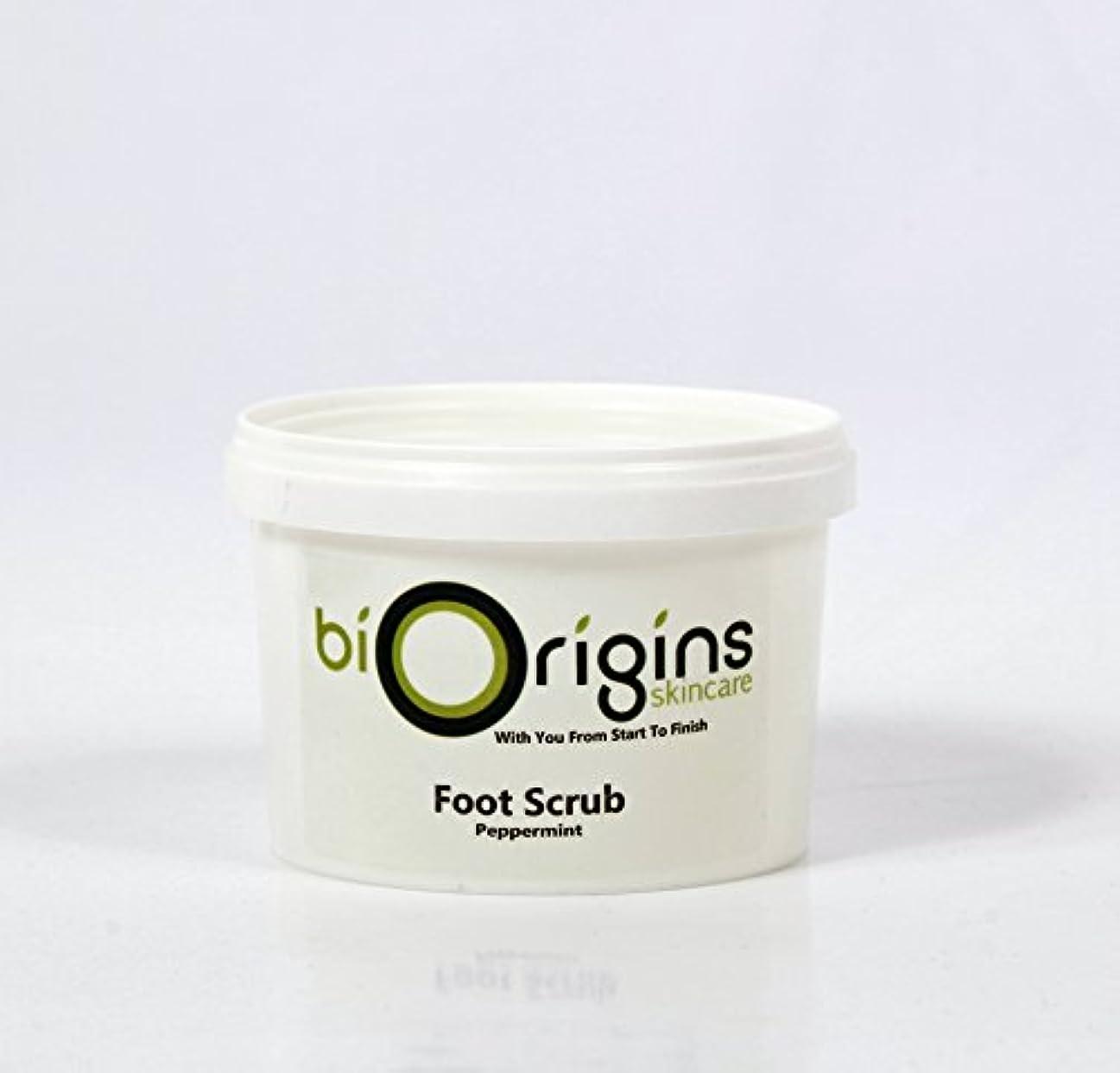 不安定なレイアアクセスできないFoot Scrub Peppermint - Botanical Skincare Base - 500g