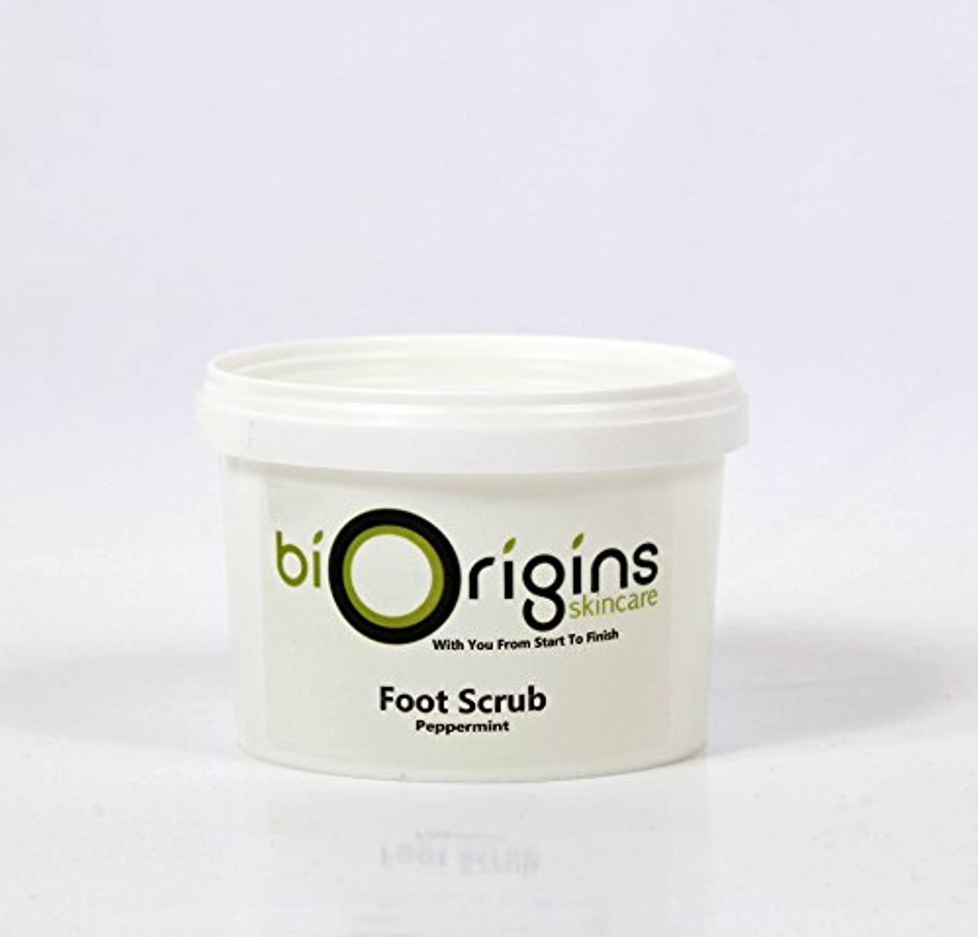訪問想像力修正するFoot Scrub Peppermint - Botanical Skincare Base - 500g