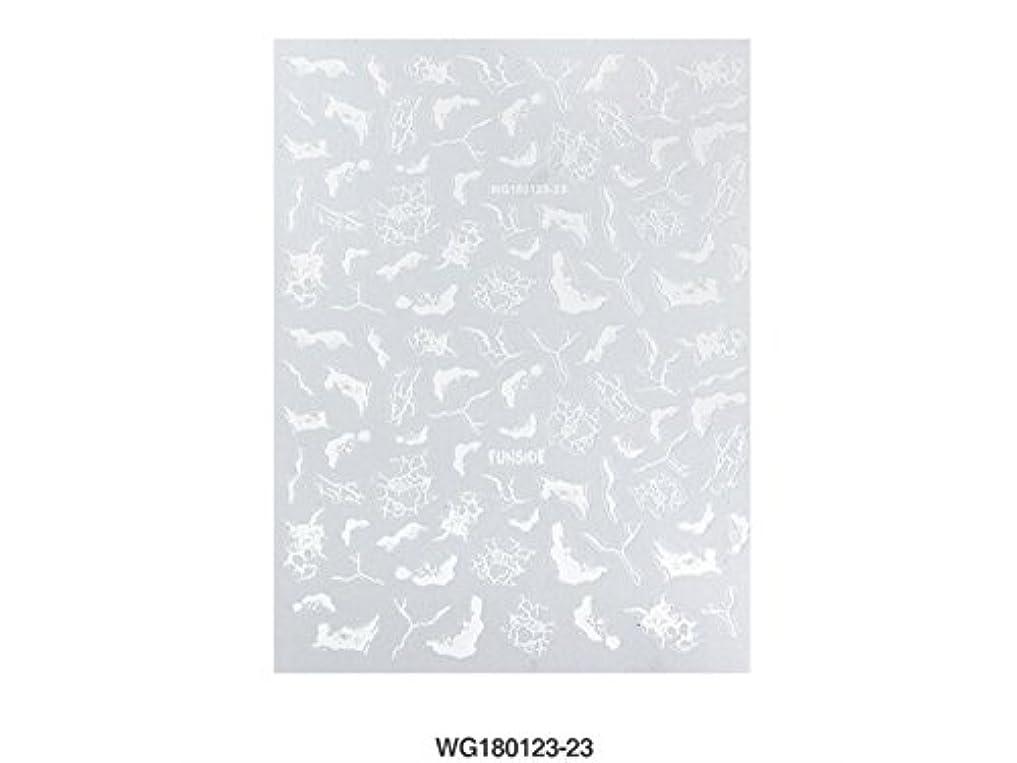 ナイロンバーベキュー知り合いOsize ネイルステッカーフルカバーネイルアートのヒントペーパーPre Design Pressネイルステッカー(図示)