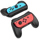 ジョイコンハンドル Nintendo Switch専用 Joy-Conハンドル グリップ 2個 任天堂 スイッチYOSH? ブラック