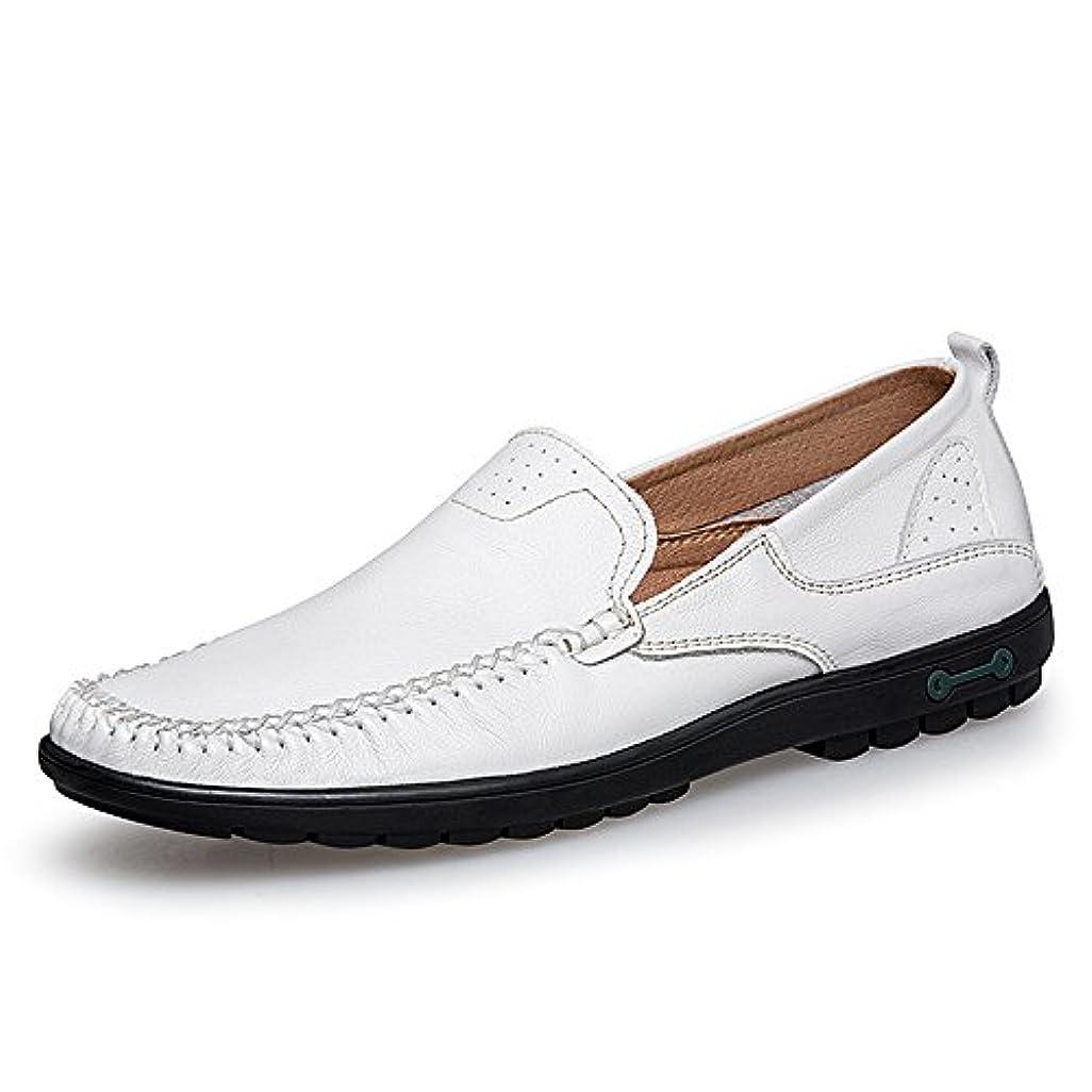 名目上のの配列療法靴 男性 ファッション モカシン 柔らかい スーパーライト 運転 ローファー 通気