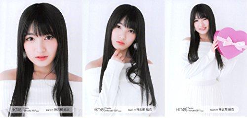 【神志那結衣】 公式生写真 HKT48 Theater 20...