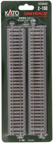 HOユニトラック線路 直線線路 246mm (4本入) #2-150