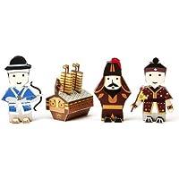 Korea Character Papertoy - Yisunshin Set