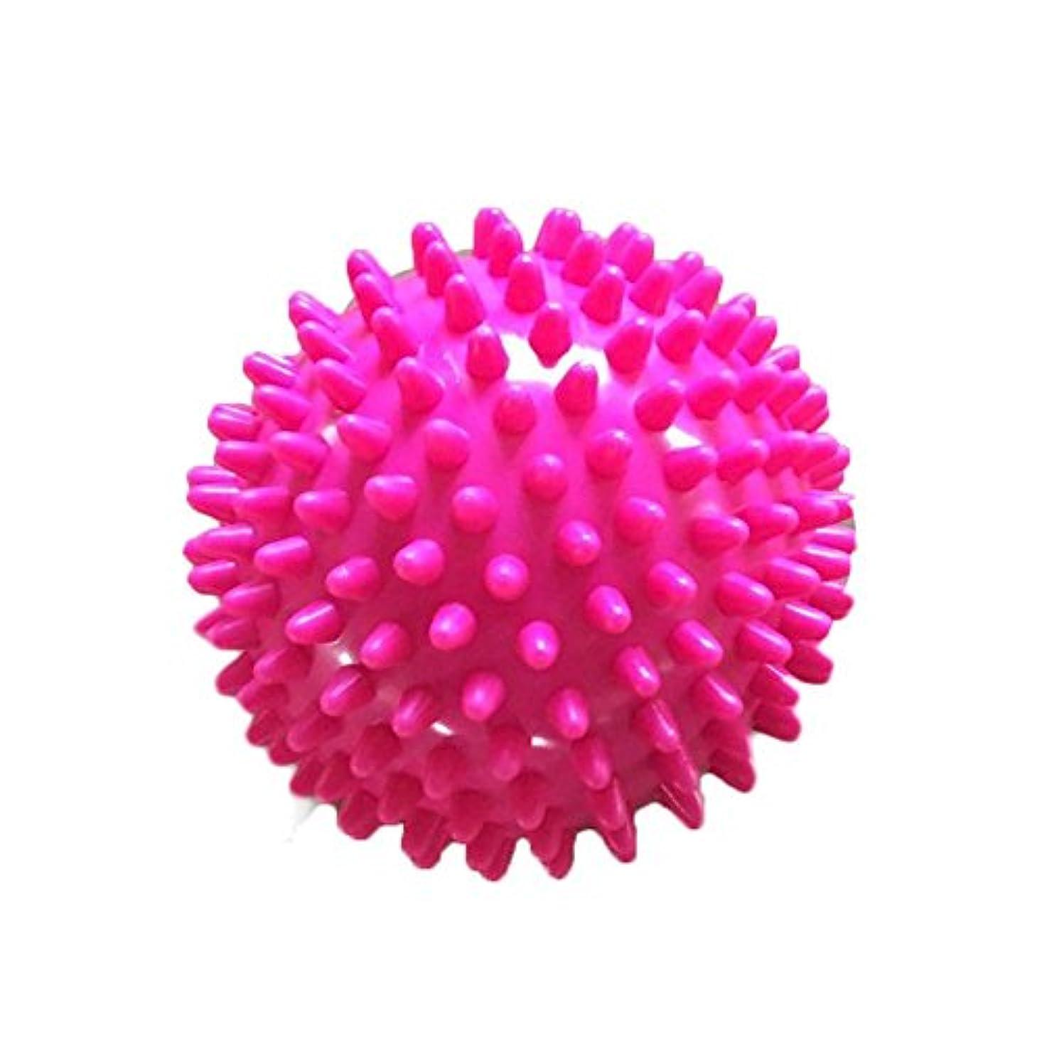 システムまあ曖昧な7.5 CM ポリ塩化ビニールのローラー球の 脊髄 のマッサージは筋肉痛 のヨガの球を取り除きます