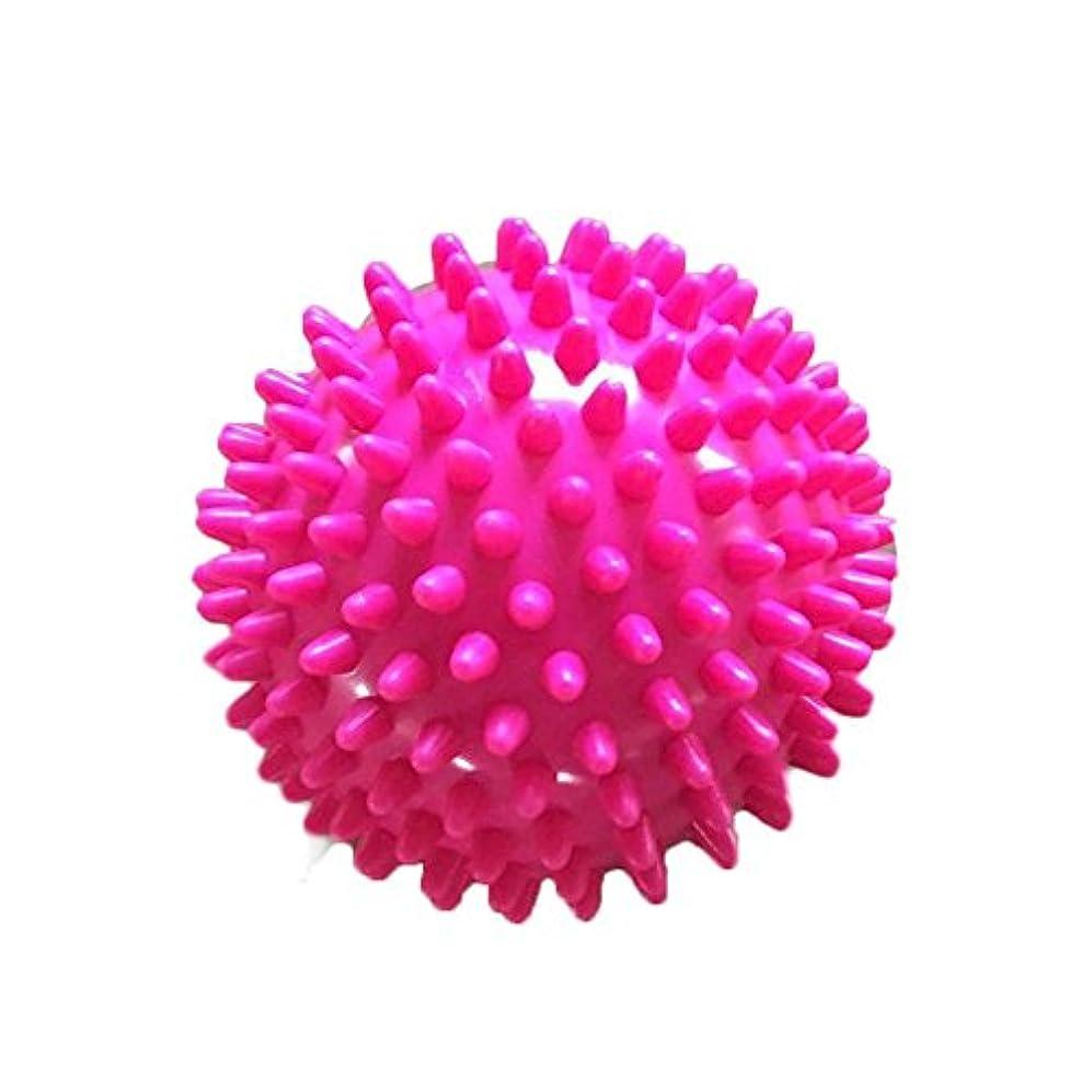 行動あえて復活する7.5 CM ポリ塩化ビニールのローラー球の 脊髄 のマッサージは筋肉痛 のヨガの球を取り除きます