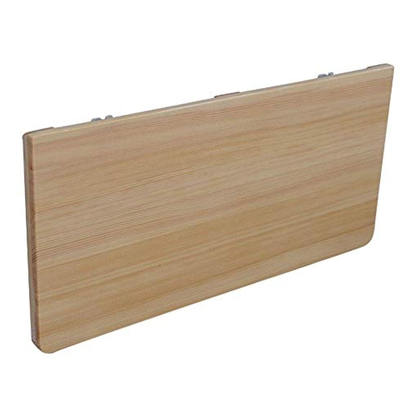 救急車かもめテスピアン折りたたみデスク 壁の自宅パソコンデスク折りたたみ式の机のテーブルに対してシンプルでモダンな壁掛け木製折りたたみテーブル-9サイズ A++ (Size : 60x30cm)