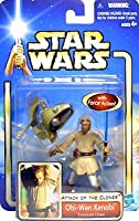 Hasbro Star Wars Attack Of The Clones Obi Wan Kenobi Coruscant Chase Action Figure With Force Action