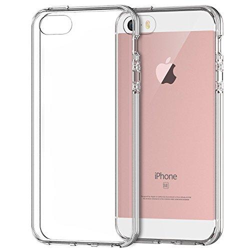 JEDirect iPhone SE 5 5s ケース 衝撃吸収バンパー ア...