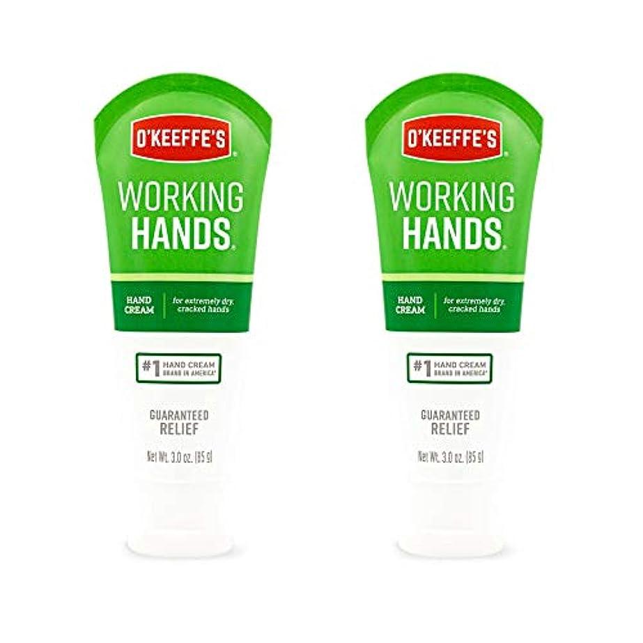 比率クックかけるO ' Keeffe 's Working Hands Hand Cream、3 oz ( Pack of 2 )