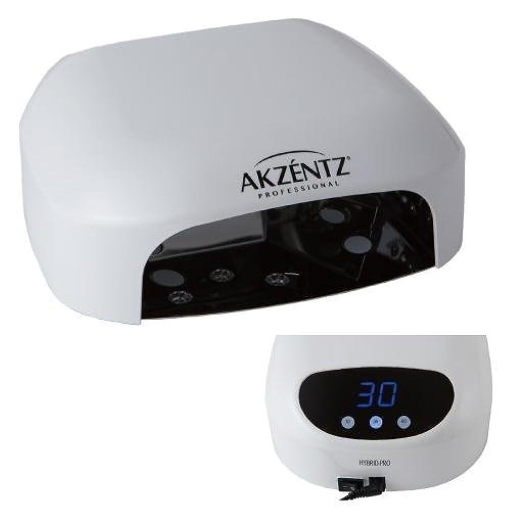 わかりやすいほこりっぽいペアAKZENTZ(アクセンツ) ハイブリットプロLEDランプ 36W/タイマー付き