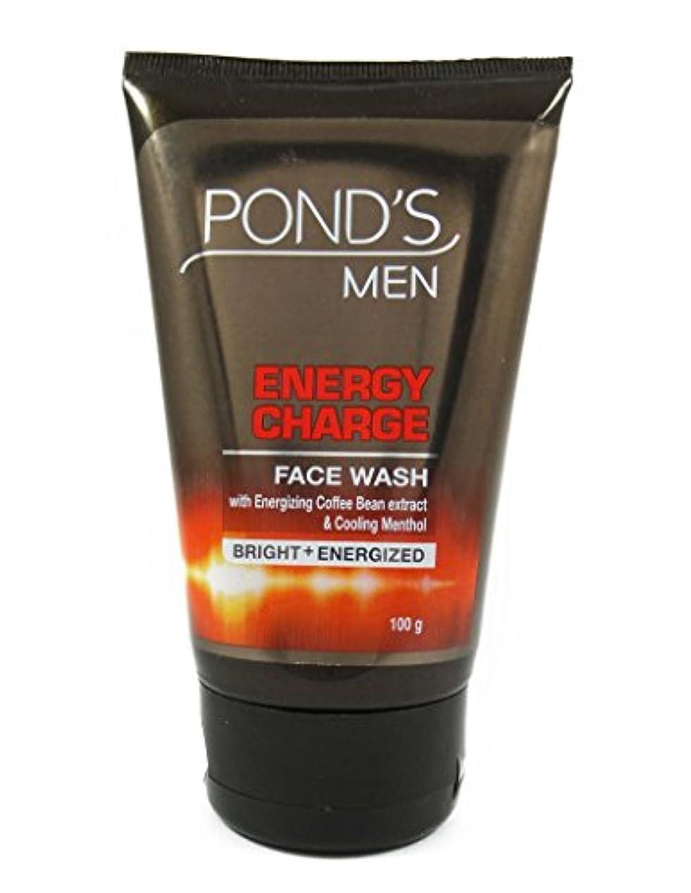フィッティング口述する一方、POND'S Ponds Men Energy Charge Face Wash, 100g