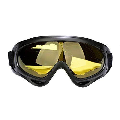 MoGist スキーゴーグル ユース/メンズ/レディース/キッズ用 UV400保護 曇り止め スキー/スノーモービル/スキーボード/ヘルメットに対応 18*8CM