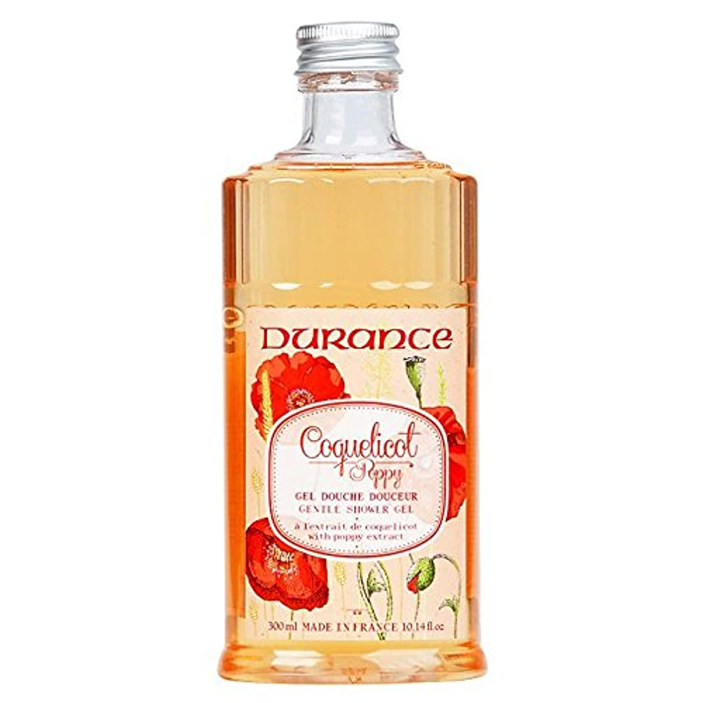 下に向けますまっすぐにする故意にデュランス 【コクリコ】 ポピー シャワージェル 300ml 天然香料 植物性 / 南仏プロヴァンス