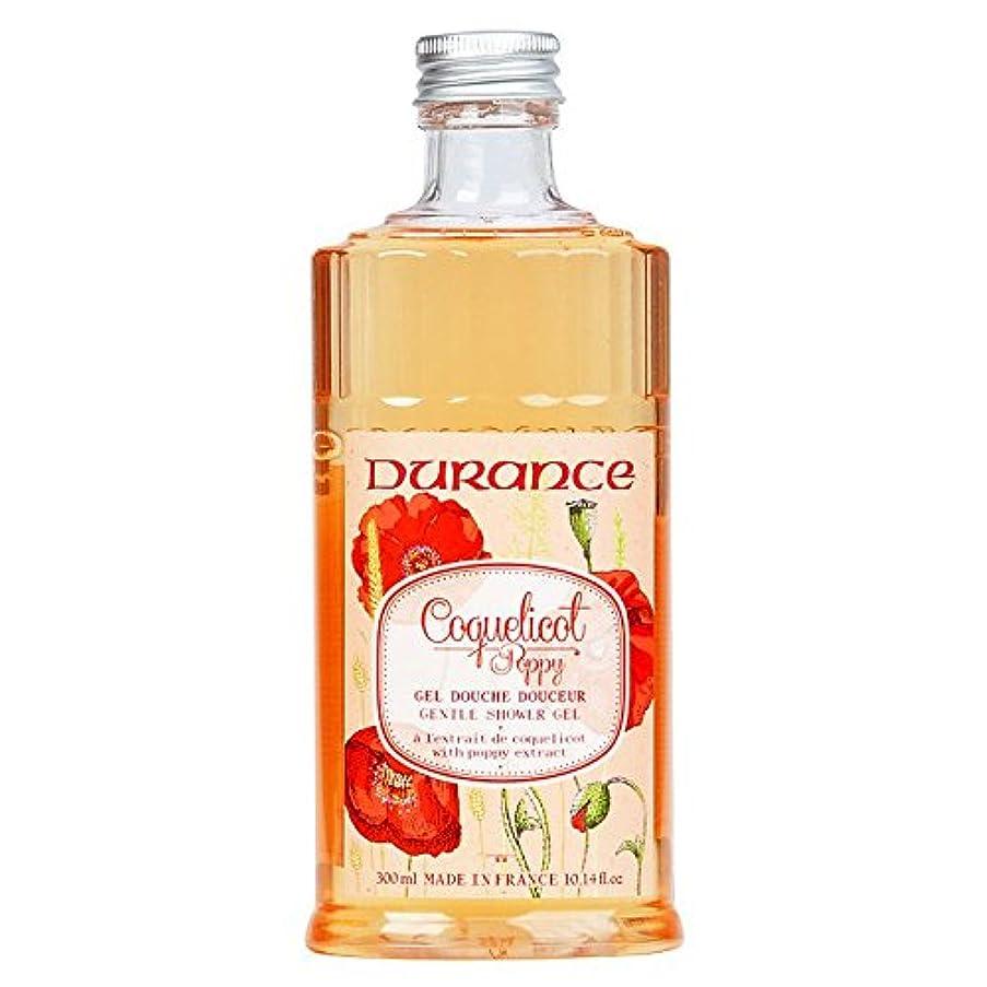 ばかげている冷蔵するに応じてデュランス 【コクリコ】 ポピー シャワージェル 300ml 天然香料 植物性 / 南仏プロヴァンス