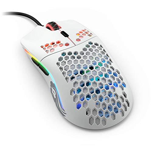 『Glorious ゲーミングマウス Model O Mouse Matt White 軽量 ハニカムデザイン オムロンスイッチ搭載 1年保証 【国内正規品】』のトップ画像