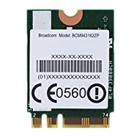 無線LANカード Acouto デュアルバンド2.4G / 5G 433Mpbsネットワーク NGFFワイヤレスWIFIカード プロトコル:802.11 AC Lenovo用