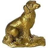 干支 戌 置物 犬 飾り物 縁起物 イヌ 風水 いぬ (銅製)