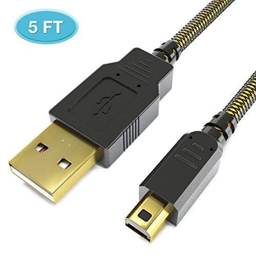 New ニンテンドー3DS USB充電ケーブル New3DS/New 2ds LL/New 3DSLL/3DS/3DSLL/2DSDSi/DSi LL兼用 ナイロン編み 1.5m