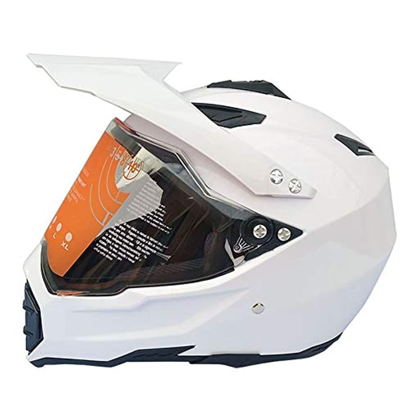 ロイヤリティ旋回立ち向かうTOMSSL高品質 フルカバレッジオフロードオートバイヘルメットロードオフロードレーシングヘルメットメンズフォーシーズンズ (Size : S)
