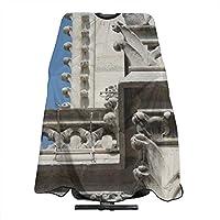 SUNDY ノートルダム大聖堂 パリ 白い貴婦人 カジモド ガーゴイル 子供 散髪ケープ セルフカット ヘアエプロン 散髪マント