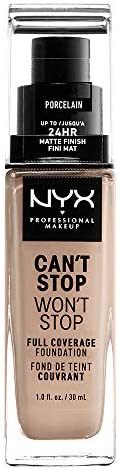 NYX Professional Makeup Can't Stop Won't Stop Full Coverage Liquid Foundation - 03 P