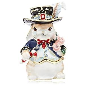[ピィアース] PIEARTH ジュエリーボックス ウサギ男爵 415-1