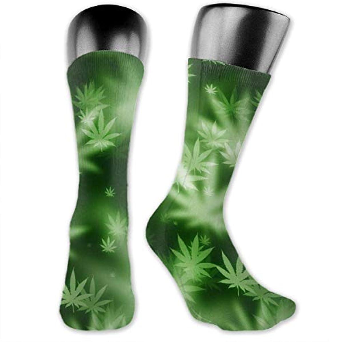 ワイド剪断壁紙MKLOS 通気性 圧縮ソックス Breathable Extra Long Cotton Thigh High Barber Tool and Flag Socks Over Exotic Psychedelic Print...