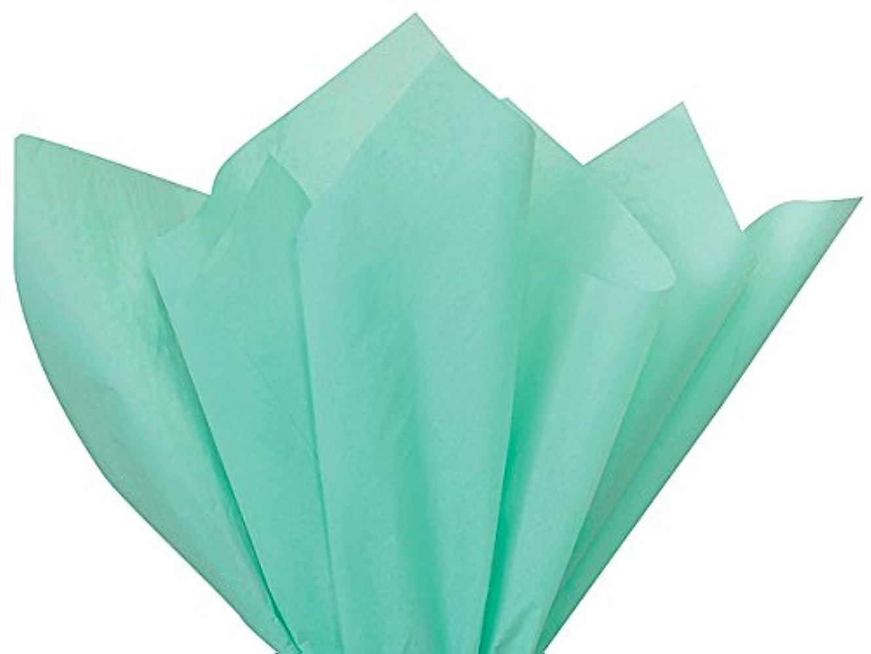 抑止する装備する全体Gift Wrap Tissue Paper 20 X 30 - 48 Sheets (Aqua) by A1BakerySupplies