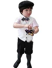 2cd2768072cef ニューヤ (Newya) 男の子 豪華 フォーマル ベビー 子供スーツ ギッズ服 卒園式 フラワー