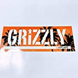 GRIZZLY GRIPTAPE グリズリー スケートボード ボックスロゴ ステッカー 夕焼け