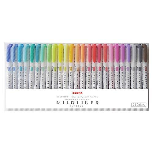 【豊富な種類から選択する】蛍光ペンのおすすめランキング10選