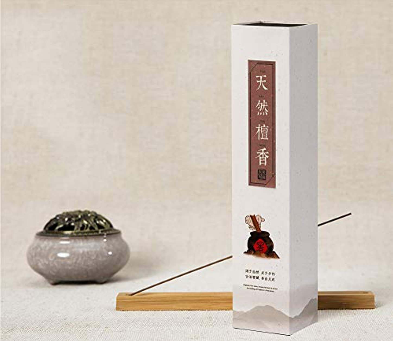 焦がすウェイトレスチチカカ湖HwaGui - お線香 天然檀香 インセンス 香るスティック 養心安神 お香ギフト 21cm 0.75時間