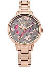 [キャスキッドソン]Cath Kidston 腕時計 3針 花柄 CKL001RGM レディース 【正規輸入品】