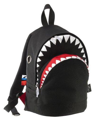 MORN CREATIONS シャークバッグパック Mサイズ ブラック