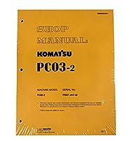 Komatsu pc03–2excavatorワークショップ修理サービスマニュアル–部品番号# sebm025000