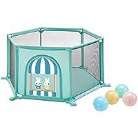 ベビーサークル 幼児の遊び場の赤ちゃん遊び庭の家庭の6パネル漫画のゲームの柵ボールの屋内遊び場 (サイズ さいず : 100 balls)