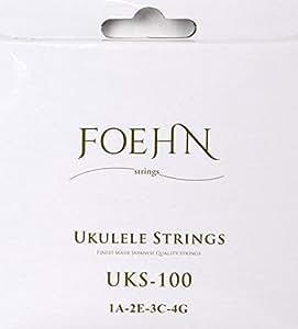 FOEHN UKS-100×6セット Ukulele Strings Soprano/Concert ウクレレ弦 ソプラノ/コンサート用