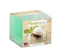 """minio小柄Square Mini Dessert Plates 2.5"""" X 2.5""""半透明グリーン LSMP-205-TG"""