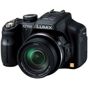 パナソニック デジタルカメラ ルミックス ブラック DMC-FZ150-K