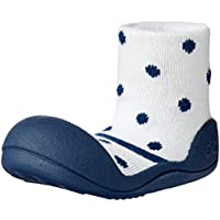 Attipas Formal Baby Walker Shoes, Navy, Medium