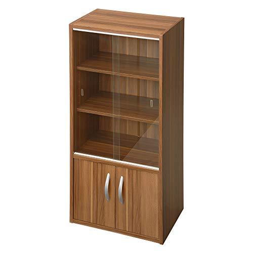 ぼん家具 食器棚 KCB000033-WT B07796QNGN 1枚目