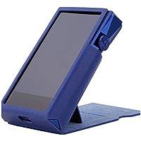 MITER ケース For Astell&Kern A&ultima SP1000M 用 カバー プロテクター ハンドメイド品 [特許取得済み スタンド付きケース] A & ultima SP1000M Case (Navy (Cobalt Blue))