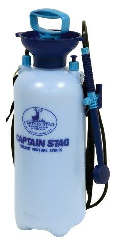 CAPTAIN STAG(キャプテンスタッグ):ポンピングシャワー 携帯用